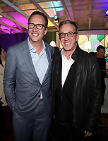 LOS ANGELES, CA - FEBRUARY 6:  CEO, FOX Entertainment Charlie Collier, and LAST MAN STANDING cast member Tim Allen attends the FOX Winter TCA 2019 All Star Party at The Fig House on February 6, 2019 in Los Angeles, California. (Photo by Frank Micelotta/Fox/PictureGroup)