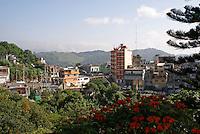 Town of Xilitla, San Luis Potosi state, Mexico