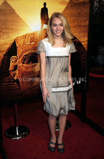 WWW.ACEPIXS.COM . . . . .....February 11 2008, New York City....Actress Annasophia Robb arriving at the 'Jumper' premiere at the Ziegfeld Theater in New York City. ....Please byline: KRISTIN CALLAHAN - ACEPIXS.COM.. . . . . . ..Ace Pictures, Inc:  ..(646) 769 0430..e-mail: info@acepixs.com..web: http://www.acepixs.com