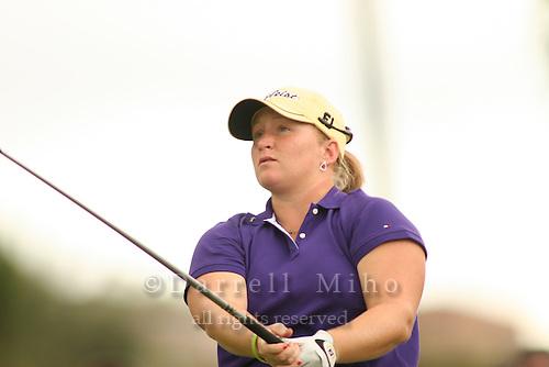 Feb 24, 2006; Kapolei, HI, USA; Meredith Duncan tees off during the 2nd round of the LPGA Fields Open at Ko Olina Resort...Photo Credit: Darrell Miho.Copyright © 2006 Darrell Miho
