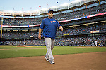 John Gibbons (Blue Jays),<br /> AUGUST 7, 2015 - MLB :<br /> Toronto Blue Jays manager John Gibbons walks back to the dugout during the Major League Baseball game against the New York Yankees at Yankee Stadium in the Bronx, New York, United States. (Photo by Thomas Anderson/AFLO) (JAPANESE NEWSPAPER OUT)
