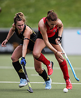 Canterbury v Capital women during the National Hockey League, Day One action, National Hockey Stadium, Wellington, New Zealand. Saturday 15 September 2018. Photo: Simon Watts/www.bwmedia.co.nz/Hockey NZ