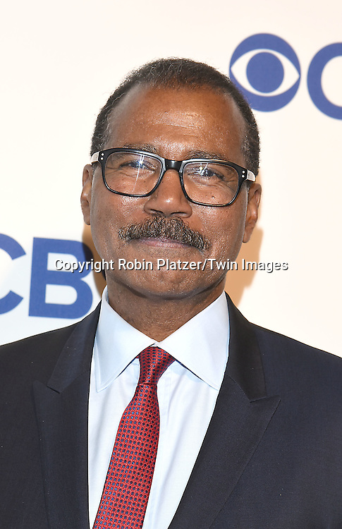 Bill Whitaker of 60 Minutes attends the CBS Upfront 2016-2017 on May 18, 2016 at the Oak Room at the Plaza Hotel in New Yorik, New York, USA.<br /> <br /> photo by Robin Platzer/Twin Images<br />  <br /> phone number 212-935-0770