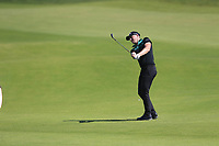 Matt Wallace (ENG) on the 14th during the final round of  the Saudi International powered by Softbank Investment Advisers, Royal Greens G&CC, King Abdullah Economic City,  Saudi Arabia. 02/02/2020<br /> Picture: Golffile | Fran Caffrey<br /> <br /> <br /> All photo usage must carry mandatory copyright credit (© Golffile | Fran Caffrey)