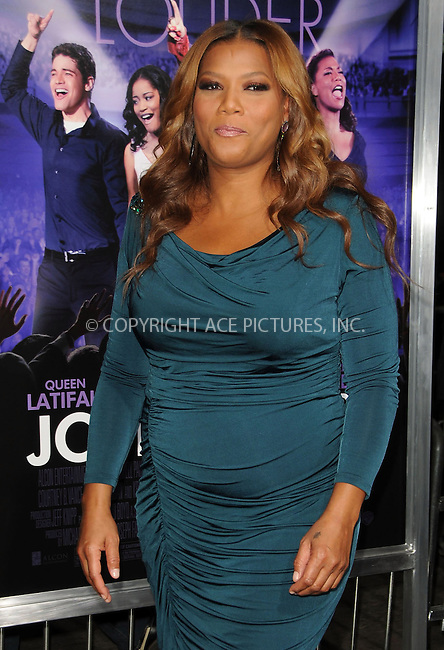 WWW.ACEPIXS.COM . . . . .....January 9 2012, LA....Queen Latifah arriving at the 'Joyful Noise' Los Angeles Premiere at Grauman's Chinese Theatre on January 9, 2012 in Hollywood, California.....Please byline: PETER WEST - ACE PICTURES.... *** ***..Ace Pictures, Inc:  ..Philip Vaughan (212) 243-8787 or (646) 679 0430..e-mail: info@acepixs.com..web: http://www.acepixs.com