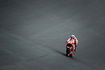The Rider of motoGP Marc Marquez during the qualifying practice of Grand Prix Sachsenring in Germany. 12/07/2014. Samuel de Roman / Photocall3000.