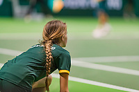 Rotterdam, The Netherlands, 17 Februari 2019, ABNAMRO World Tennis Tournament, Ahoy, Ballgirl,<br /> Photo: www.tennisimages.com/Henk Koster