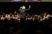 SAO PAULO, SP, 13 DE MAIO 2013 - ENCONTRO BILATERAL - BRASIL - ALEMANHA - O maestro Joao Carlos Martins e a orquestra sinfonica do SESC durante cerimonia de abertura do encontro Econômico Brasil-Alemanha - EEBA 2013 no Hotel Sheraton WTC na região sul da capital paulista, nesta segunda-feira, 13. (FOTO: WILLIAM VOLCOV / BRAZIL PHOTO PRESS).