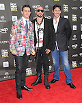 Joey McIntyre, Jonathan Knight, and AJ McLean at Logo's New Now Next Awards held at Avalon in Hollywood, California on April 07,2011                                                                               © 2010 Hollywood Press Agency