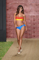 Iesha Marie walks runway at Wet Couture Swimwear Show during Funkshion Fashion Week Miami Beach Swim 2013 at Miami Beach, FL on July 18, 2012