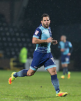 Sam Wood of Wycombe Wanderers during the Sky Bet League 2 match between Notts County and Wycombe Wanderers at Meadow Lane, Nottingham, England on 10 December 2016. Photo by Andy Rowland.