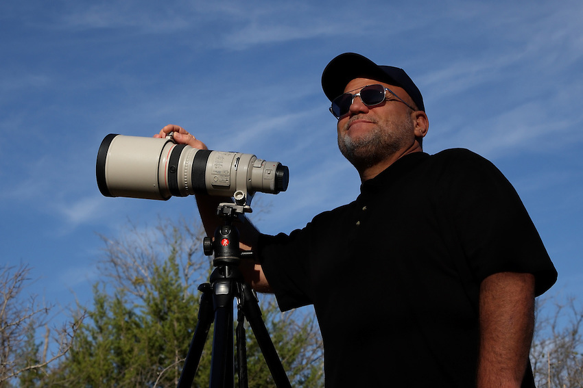 The Photographer. Central Texas Hill Country.