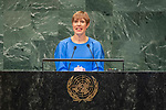 DSG meeting<br /> <br /> AM Plenary General DebateHis<br /> <br /> <br /> <br /> Her Excellency Kersti Kaljulaid, President, Republic of Estonia