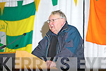 Ger McKenna at the County Board Meeting on Monday night at the Malton Hotel Killarney.