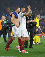Aleksandar Kolarov<br /> Londra 18-10-2017 Stamford Bridge Football Champions League 2017/2018 Chelsea - Roma <br /> Foto Gino Mancini / Insidefoto