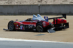 Monterey California, May 4, 2014, Laguna Seca Monterey Grand Prix, Prototype with broken rear axle
