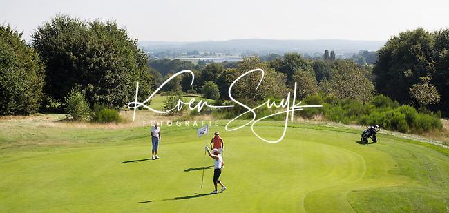 GROESBEEK - Golfbaan Rijk van Nijmegen. Groesbeekse baan. Hole Zuid 8. COPYRIGHT KOEN SUYK