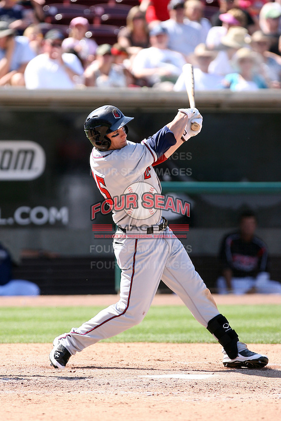 Brandon Barnes  -  Lancaster JetHawks playing against the Lake Elsinore Storm at the Diamond, Lake Elsinore, CA - 05/16/2010.Photo by:  Bill Mitchell/Four Seam Images