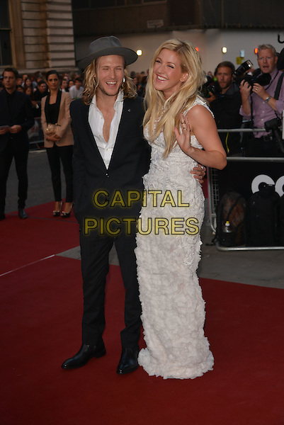 LONDON, ENGLAND SEPTEMBER 02:  Dougie Poynter; Ellie Goulding attend the GQ Men of the Year 2014 awards in association with Hugo Boss at The Royal Opera House on September 2, 2014 in London, England.<br /> CAP/PL<br /> &copy;Phil Loftus/Capital Pictures