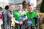 Brian McCarthy, Alan Quinn and John Hough after completing Killarney Adventure Race in the Gleneagle Hotel last Saturday.