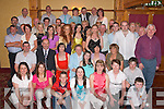 Nifty Fifty: Catherine O'Halloran, Racecourse Road, Tralee (seated 3rd left) celebrated her 50th birthday in the Meadowlands Hotel on Saturday evening with her husband Anthony and many friends.   Copyright Kerry's Eye 2008