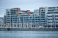 Olympiastadt Vancouver 2010.Olympisches Dorf, wo alle Athleten untergebracht sind.