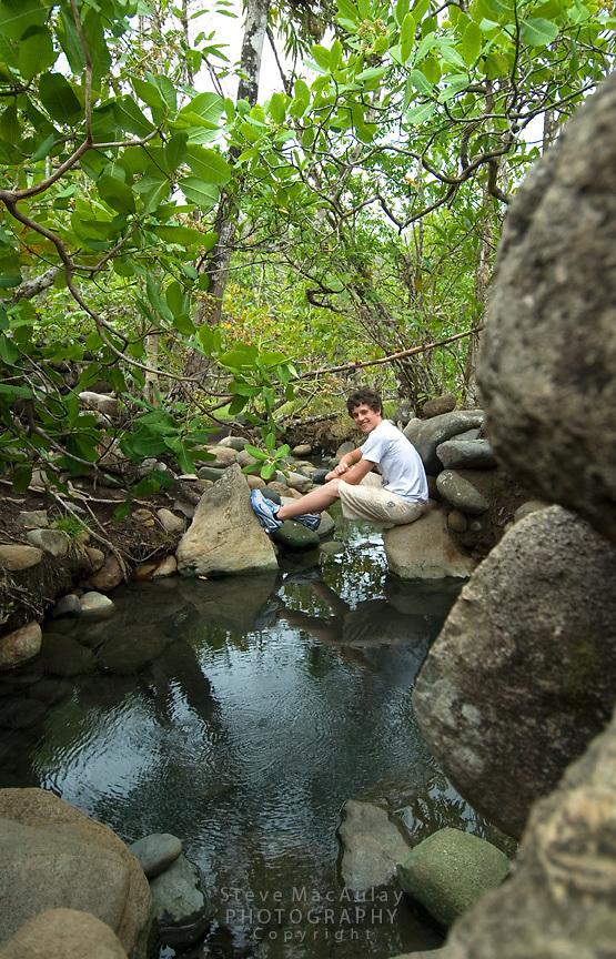 Hotsprings, Boquete, Panama,Chiriqui Province