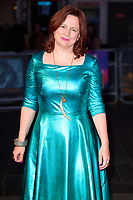 Claire Stewart at the London Film Festival 2017 screening of &quot;The Shape of Water&quot; at the Odeon Leicester Square, London, UK. <br /> 10 October  2017<br /> Picture: Steve Vas/Featureflash/SilverHub 0208 004 5359 sales@silverhubmedia.com