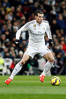 Gareth Bale of Real Madrid during La Liga match between Real Madrid and Sevilla at Santiago Bernabeu Stadium in Madrid, Spain. February 04, 2015. (ALTERPHOTOS/Caro Marin) /NORTEphoto.com