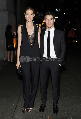 New York, NY- October 23: Michelle Monaghan and Joseph Altuzarra spotted on Wall Street attending the 31st annual FGI Night Of Stars event at Cipriani Wall Street on October 23, 2014 in New York City. Credit: John Palmer/MediaPunch