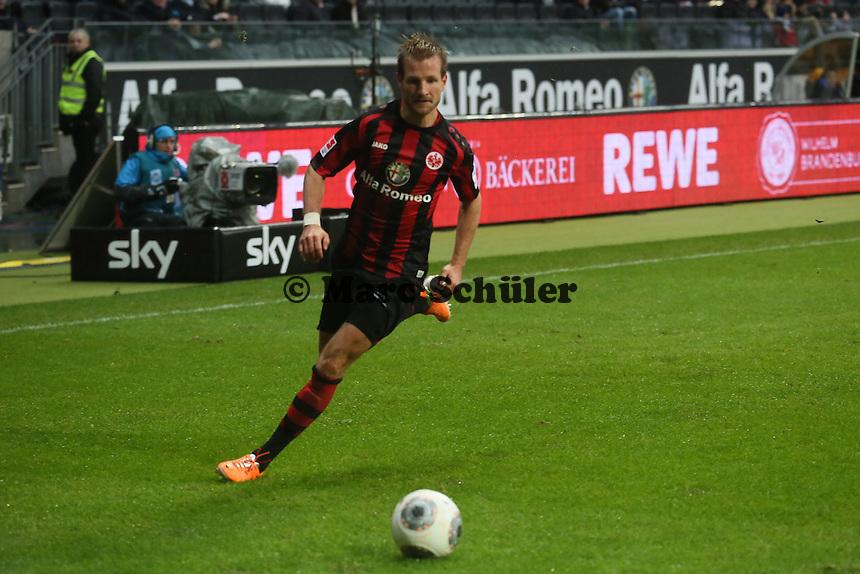 Stefan Aigner (Frankfurt) Eintracht Frankfurt vs. Eintracht Braunschweig, Commerzbank Arena