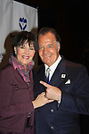 Another World's Linda Dano poses with Sopranos Tony Sirico on March 21, 2013 at the HeartShare 25th Annual Spring Gala and Auction at the New York Marriott, NYC, NY.  (Photo by Sue Coflin/Max Photos)