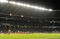 General view of the Aviva Premiership match between Harlequins and Saracens at Twickenham on Tuesday 27 December 2011 (Photo by Rob Munro)