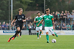 08.09.2018, pk-Sportpark, Cloppenburg, GER, FSP, SV Meppen vs Werder Bremen <br /> <br /> DFL REGULATIONS PROHIBIT ANY USE OF PHOTOGRAPHS AS IMAGE SEQUENCES AND/OR QUASI-VIDEO.<br /> <br /> im Bild / picture shows<br /> Patrick Posipal (SV Meppen #25), Max Kruse (Werder Bremen #10), <br /> <br /> Foto &copy; nordphoto / Ewert