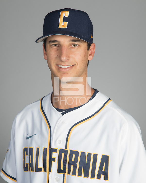BERKELEY, CA - October 14, 2016: Preston Grand Pre Cal Baseball Portraits