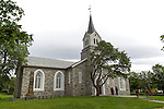 Bronnoy Church, Bronnoysund, Nordland, Norway built in 1870