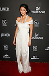 BEVERLY HILLS, CA. - February 17: Actress Emmanuelle Chriqui  arrives at the 11th Annual Costume Designers Guild Awards at the Four Seasons Beverly Wilshire Hotel on February 17, 2009 in Beverly Hills, California.