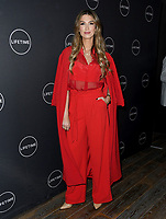 09 January 2019 - Hollywood, California - Delta Goodrem. Lifetime Winter Movies Mixer held at The Andaz, Studio 4. Photo Credit: Birdie Thompson/AdMedia