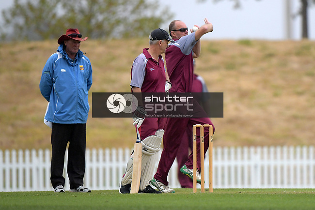 NELSON, NEW ZEALAND March 9: North v South 50+ over match at Saxton Oval, Nelson, March 9, 2019, Nelson, New Zealand (Photos by Barry Whitnall/Shuttersport Limited)