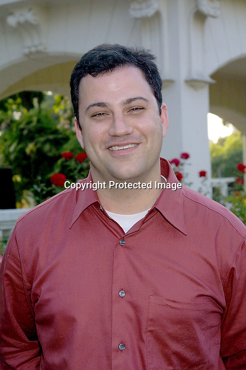 ©2002 KATHY HUTCHINS / HUTCHINS PHOTO.ABC TCA PRESS TOUR PARTY -.TOURAMENT OF ROSES HOUSE.PASADENA, CA.7/18/02.JIMMY KIMMEL