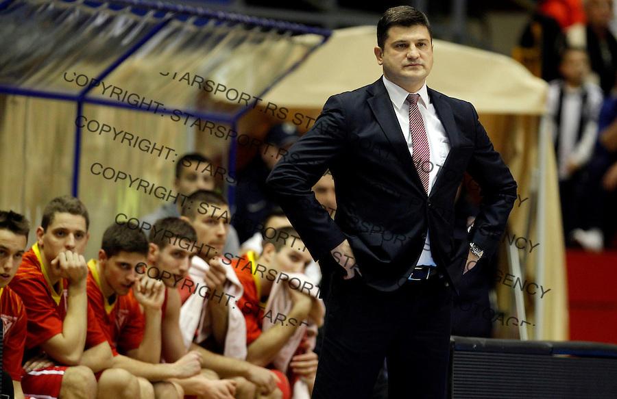 Vladimir Djokic Partizan - Metalac kosarka ABA regionalna liga 13.12.1015. December 13. 2015. (credit image & photo: Pedja Milosavljevic / STARSPORT)