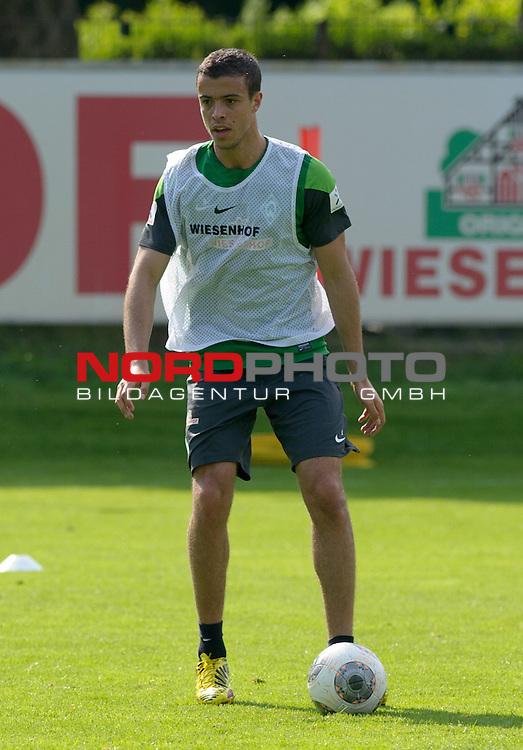 21.08.2013, Trainingsgelaende, Bremen, GER, 1.FBL, Training Werder Bremen, im Bild Franco Di Santo (Bremen #9)<br /> <br /> Foto &copy; nph / Frisch