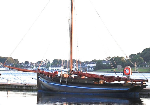 Naomh Cronan at Portaferry for the Sails & Sounds Festival
