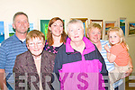 2427-2430.---------.Exhibition.----------.Admiring the fabulous paintings at the opening night of Ealaiontoiri An Leith Triuigh in the Brandon community centre last Saturday night were L-R Denis Connelly,Mary Moore,Julie Connelly,Margaret O Neill,Nora&Molly Connelly all from Brandon.