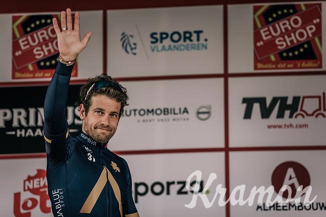 Podium: <br /> <br /> Race winner Adam Blythe (GBR/Aqua Blue Sport)<br /> <br /> 2nd Elfstedenronde 2018<br /> 1 day race: Brugge - Brugge 196.3km