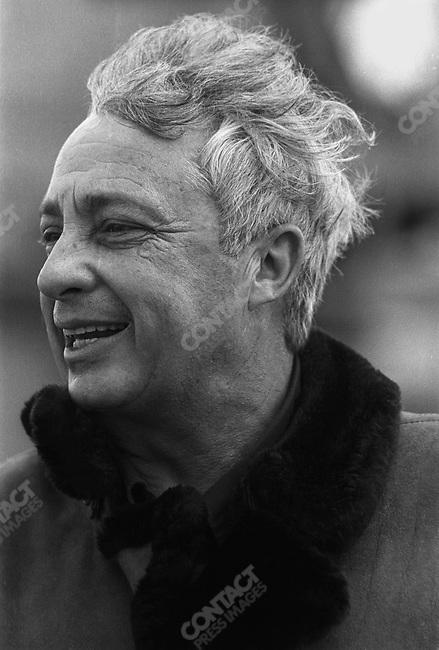 Ariel Sharon, Ashold campaign, Israel, February 1977.