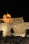 Israel, Jerusalem, Light in Jerusalem festival, Temple Mount