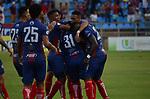 Unión Magdalena venció 2-1 a Millonarios. Partido aplazado de la fecha 7 Liga Águila II-2019.
