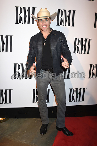 03 November 2015 - Nashville, Tennessee - Dustin Lynch. 63rd Annual BMI Country Awards, 2015 BMI Country Awards, held at BMI Music Row Headquarters. Photo Credit: Laura Farr/AdMedia