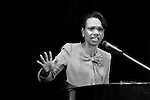 Former American Secretary of State Condoleezza Rice. Photo by Quique Kierszenbaum
